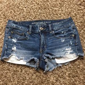 AE shortie shorts